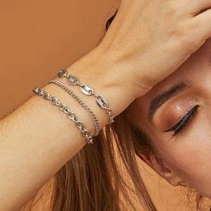 🆕 Chain Bracelet Set